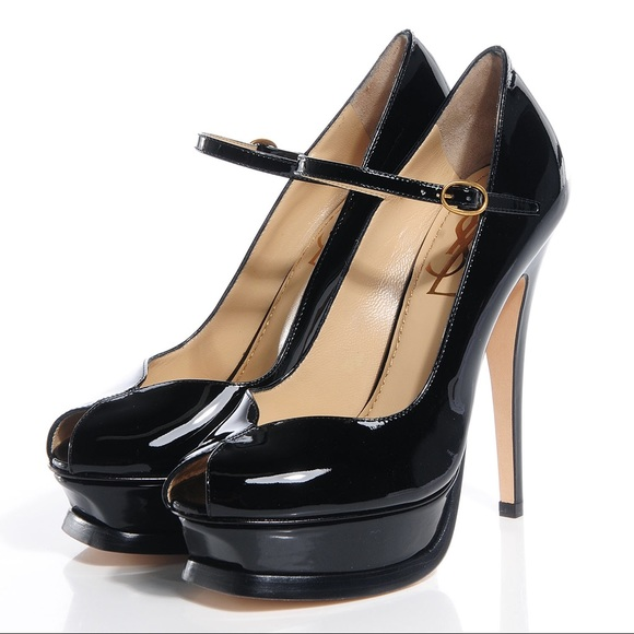 0a9a1f05a4a YSL Mary Jane Tribute Pumps